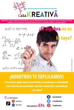 ¿El álgebra no es lo tuyo?
