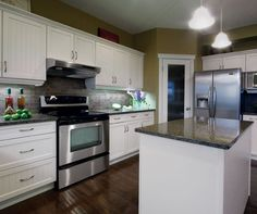Laundry room cabinets from kitchen craft (Glendale - thermofoil)