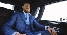 GQ Style taps UFC fighter Conor McGregor as its spring 2017 cover star. McGregor brings his unique brand of machismo to the magazine's pages with a photo shoot… Conor Mcgregor Anzug, Conor Mcgregor Suit, Mcgregor Suits, Notorious Conor Mcgregor, Connor Mcgregor, Nate Diaz Fight, Clean Cut Men, Ufc 196, Blue Suit Men
