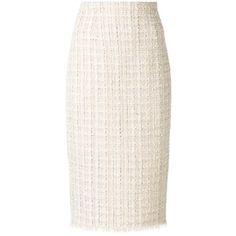 Alexander McQueen high waist pencil skirt