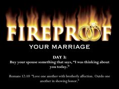 Fireproof Your Marriage For 40 Days