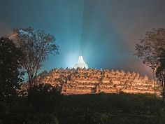 Borobudur Temple.Location : Magelang - Central Java - Indonesia Borobudur Temple, Buddhist Temple, In The Tree, Ancient Architecture, Mount Rushmore, Mountains, World, Travel, Architecture