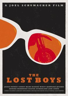 Tonight's poster round up is all about coolest Vampires Ever . The Lost Boys! Below is Art, Posters, and even a pair of shoes featuri. Sci Fi Horror Movies, Horror Movie Posters, Movie Poster Art, Film Posters, Cinema Posters, Lost Boys Movie, The Lost Boys 1987, Movie Props, Movie Costumes
