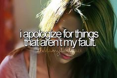 cant help but feel as though its my fault:/