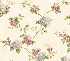 Interior Place - Periwinkle Rose Garden Trail Wallpaper, (http://www.interiorplace.com/periwinkle-rose-garden-trail-wallpaper/)