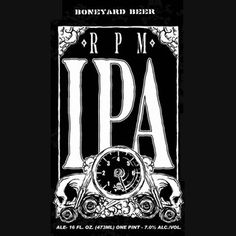 Boneyard Brewing Company, OR RPM IPA