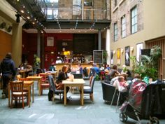 Great vegan food in The Centre for Contemporary Arts in Glasgow. Well worth a visit!  http://www.cca-glasgow.com/saramago-caf/saramago-caf-bar