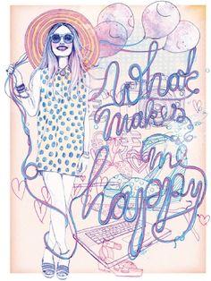 Silke Werzinger Illustrator in Germany, Berlin / Company magazine