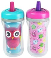 Enter to win three sets of The First Years sippy cups (a brand of sippy cups with interchangeable lids)