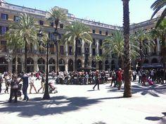 La Plaça Reial - #Barcelona