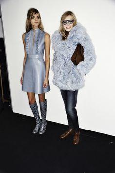 Gucci AW14-15 Fashion Show Milan Backstage | Sonny Vandevelde