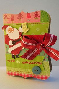 love this box using the top note die from Stampin' Up