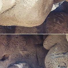 > #Jaraguenses estudian singularidad en rocas de #LasCaritas cuyas formas y material no abundan en otras partes. - Ciertos antiguos mitos dicen que esto es una puerta con un camino hasta San Juan