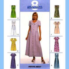 709 McCalls 9241 Womens Dress w Options sizes 8 by ladydiamond46