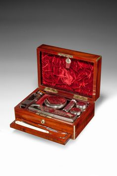 GENTLEMANS DRESSING CASE BY MECHI AND BAZIN Richard Gardner Antiques