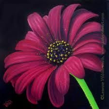 paintings of flowers - Google Search