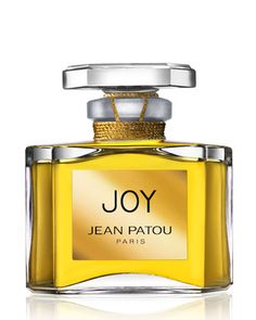 """Joy Parfum, 0.5 oz by Jean Patou @ #Neiman Marcus.  Renowned as """"the costliest perfume in the world,"""" the Joy line was created in 1930 by haute couture designer Jean Patou. One half ounce of the lavish scent contains 5,300 jasmine flowers and 14 dozen May roses. The luxurious composition is coveted by women around the world.  Top notes of Bulgarian rose, ylang-ylang, and tuberose. Middle and base notes of jasmine from Grasse and May rose."""