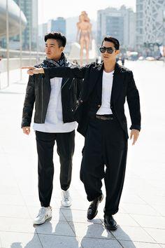 Mode Masculine, Aishwarya Rai Hairstyle, Casual Outfits, Men Casual, Seoul Fashion, Mens Fashion, Men Style Tips, Men Dress, Street Wear