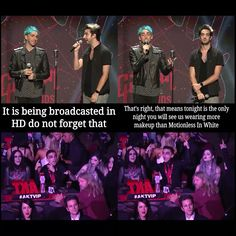 All time low and Motionless in white, APMA's 2015