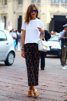 Aurora Sansone, Blue & Gold | Street Fashion | Street Peeper | Global Street Fashion and Street Style