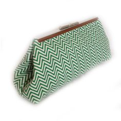 Revelry Dresses - Coin Clutch (Green Chev), $39.00 (http://www.revelrydresses.com/coin-clutch-green-chev/)