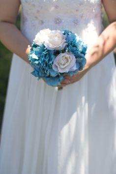 My homemade wedding bouquet