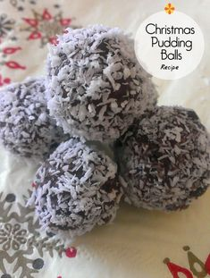 Christmas Pudding Balls (A recipe to do with kids & it tastes too good to be true!)