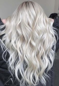 Browse here to see the amazing trends of platinum blonde hair colors and highlights to sport in 2018. Platinum is one of the best hair colors for long and short haircut styles in these days. We've posted here for you the gorgeous trends of platinum blonde highlights to give you sexy and cutest looks in year 2018.