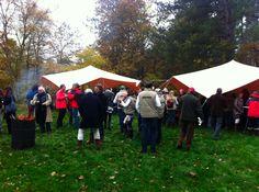 Bijzondere buiten lunch in november op Terschelling.