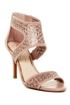 Jessica Simpson - Mekos Laser-Cut Heel Sandal at Nordstrom Rack. Free Shipping…