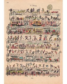 Art Work On Old Sheet Music!