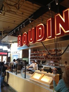 Boudin Bakery Café Baker's Hall in San Francisco, CA Had to get the famed sourdough while in SF. Ate a turkey and Havarti cheese sandwich. It was all bread, which i was more than okay with. Treat yo self!