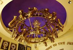 Saxophone chandelier! by berta