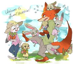 lol, i was also thinking of giving Nick a cousin, for the Rabbit to meet at the wedding Nick Y Judy, Nick And Judy Comic, Zootopia Nick Wilde, Zootopia Nick And Judy, Zootopia Fanart, Zootopia Comic, Cartoon As Anime, Cartoon Art, Eddsworld Comics