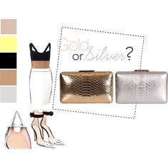 Gold or Silver ? @Cashhimi on www.cashhimi.com by cashhimi on Polyvore featuring mode, Narciso Rodriguez and Gianvito Rossi