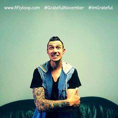 Grateful November by Fiftyloop Ps Wessel Wiese Tattooed Pastor
