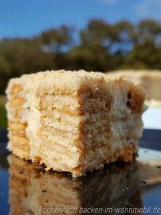 Kekskuchen aus Portugal mit der leckersten Creme ever!