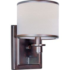 Nexus Oil Rubbed Bronze One Light Wall Sconce Maxim Lighting International 1…