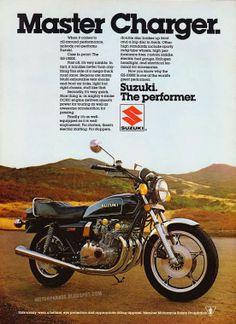 Vintage Brochures: Suzuki GS 1000E 1981 (Usa)