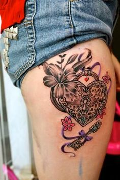 Loveee this, with a purple rose & the kids name on the ribbon