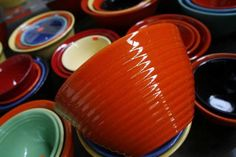 Bauer Pottery from California