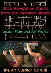 The Art Curator for Kids - Marshall Islands Stick Chart Lesson Plan and Art Project - Navigation Charts from Micronesia Art Lessons For Kids, Art Lessons Elementary, Art For Kids, Cultural Crafts, Teaching Geography, Learn Art, Marshall Islands, Art Lesson Plans, Navigation Charts