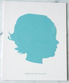 Personalized Silhouette Artwork | Project Nursery
