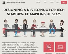 The best of web design and web design inspiration - updated regularly with new designs and web designers, and featuring the best Wordpress Themes. Design Web, Flat Design, Graphic Design, One Page Website, Mobile Ui Design, Ui Design Inspiration, Design Ideas, User Interface Design, Best Wordpress Themes