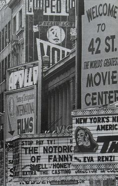 1968 Times Square NYC vintage photo 42nd Street New York City by Christian Montone