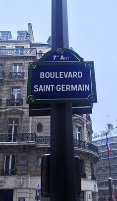 Boulevard Saint-Germain in Paris, France. Travel photo by Katja Presnal