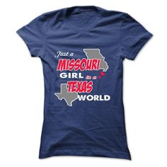 MISSOURI girl in TEXAS T-Shirts, Hoodies. Get It Now ==►…