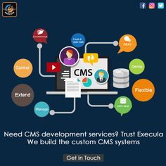 Best CMS Web Development Service Company in the USA. Offering services for WordPress CMS development, Joomla CMS development, Drupal CMS, Joomla CMS & more.   Visit: www.execula.com  #cmsdevelopment #cmswebsites #wordpresscms  #drupaldevelopment #webdevelopmentservices Internet Marketing Company, Content Marketing, Digital Marketing, Drupal, Competitor Analysis, Best Web, Web Development, Wordpress, Usa