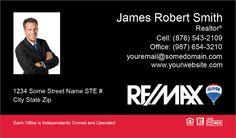Medium Photo Size Remax Business Cards