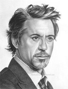 Robert Downey Jr. by *markstewart on deviantART